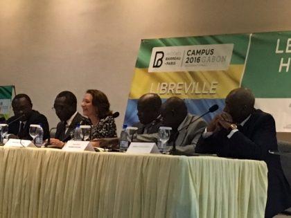 Laurence Kiffer contribuyó a la organización del Campus Gabon