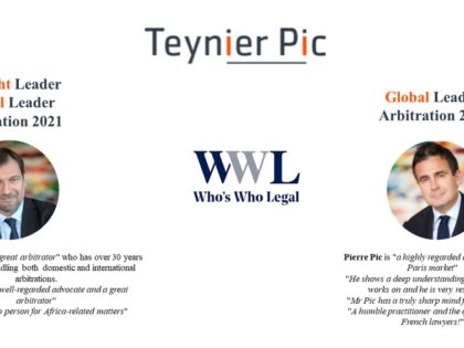 Who's Who Legal Arbitration 2021 Rankings